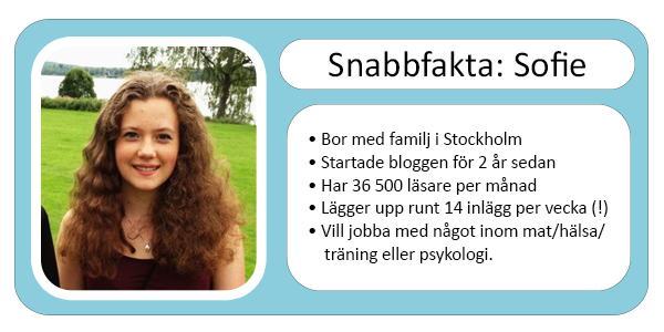Sofie från Food and Health in My Way